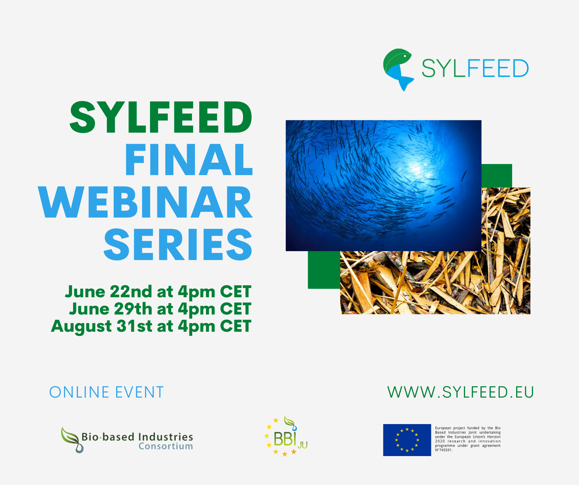 SYLFEED Final Webinar Series Announced