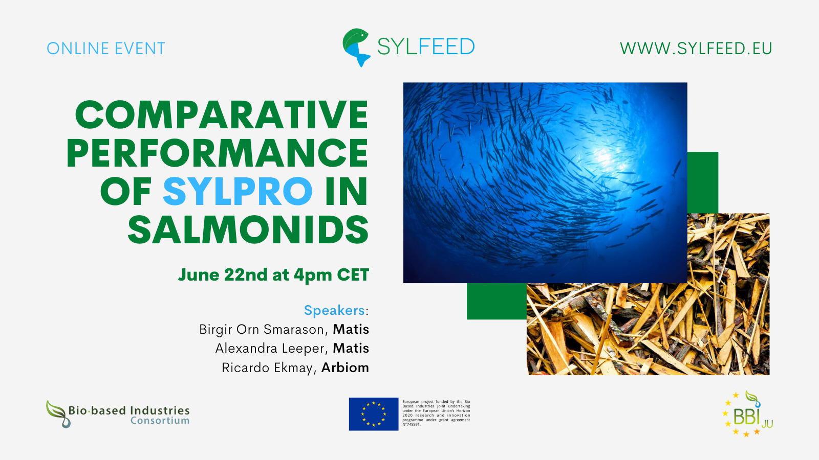 SYLFEED Webinar on Comparative Performance of SylPro in Salmonids – Recording
